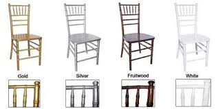 chiavari chairs rentals. Check Out Our Chiavari Chair Options And Cushion Colors! Rental Includes: Black, White, Or Ivory Cushion. Additional Color Available! Chairs Rentals