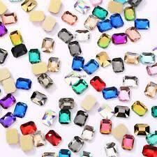 Прямоугольник разноцветный бисер россыпью <b>страз</b> - огромный ...