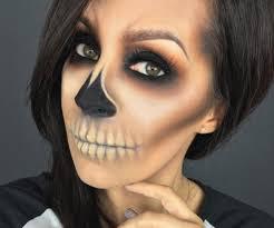 sugar skull makeup go simple