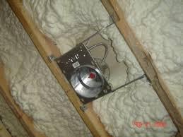 Spot Lighting Spray Foam Insulation And Recessed Can Lights Iowa