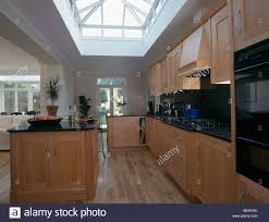 Extension Kitchen Island Unit In Large Open Plan Modern Kitchen Extension With