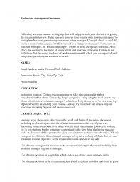 Resume Objective For Manager Zoro Blaszczak Co Restaurant Dishwasher