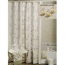 coastal collage fabric shower curtain coastal living palm shower curtain coastal collection seashell shower curtain coastal