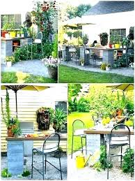 concrete block garden cinder outdoor kitchen landscaping ideas with blocks raised bed plans