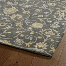 wendell hand tufted wool rug gray