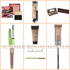 d i y summer bridal makeup try the beautiful made in usa cosmetics we love