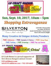 sept 10 2017 silverton lv craft gift show ping extravaganza