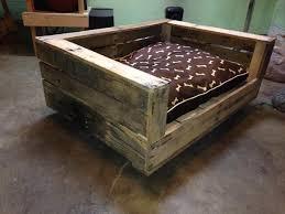 wood dog bed furniture. exellent dog reclaimed pallet dog bed with cushion intended wood dog bed furniture f