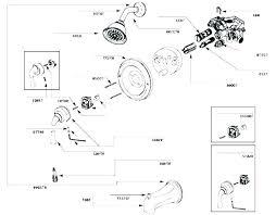 delta shower valve parts faucet handle bay cartridge control replacement shower control repair valve