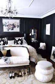 Black White And Gold Master Bedroom | Architectural Design