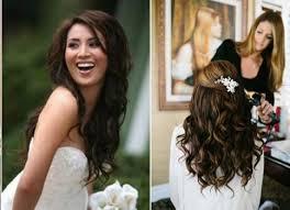 Svatební účes Pro Dlouhé Vlasy Rozpuštěný V Evropském Stylu Boho