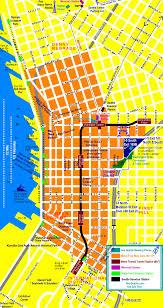 downtown seattle tourist map  seattle washington • mappery