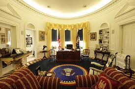 white house oval office. This Is The £150,000 Replica Oval Office Built By An Avid White House Fan In His Own Home. E