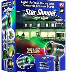 Star Shower Laser Light Projector Star Shower In Store Star Shower ...