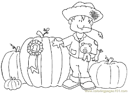 Small Picture Coloring Pages To Print Fall Coloring Pages