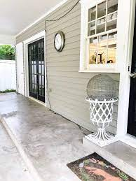 before and after painted concrete porch