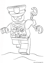 Small Picture lego police officer city Coloring pages Printable