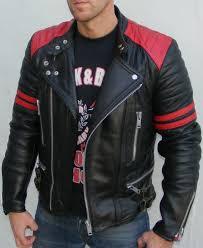 leather coats men s leather leather fashion leather jackets men s fashion red leather jacket men fasion cafe racer jacket bobber