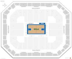 Mahaffey Seating Chart The Incredible As Well As Attractive Pauley Pavilion Seating