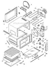 kitchenaid toaster parts list kitchen room delonghi as50u parts list and diagram ereplacementparts com