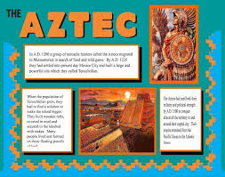 poster for school project make a poster about the aztec school project poster ideas