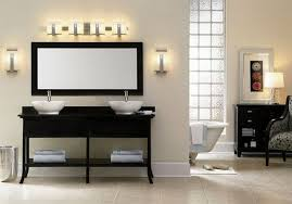 elegant black bathroom light fixtures and black vanity with lights bathroom vanity bar lights black vanity