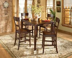 ashley furniture dining room sets rectangle brown