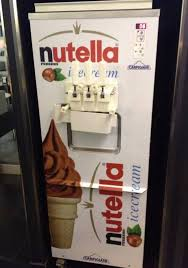 Ice Cream Vending Machine For Sale Fascinating Nutella IceCream Oh Muh Gawd Goodies Pinterest Ice Cream