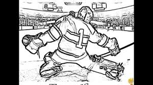 Small Picture Coloring Hockey Coloring Pictures