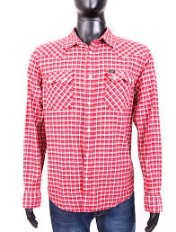 Reyn Spooner Size Chart Details About Lee Mens Shirt Tailored Checked Red Size Xl