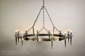 spanish delgado round chandelier