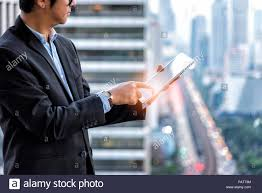 Business Tablet Business Strategy Startup Project Concept Businessman Touch