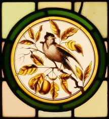 antique stained glass windows for