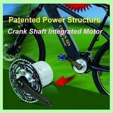 Taiwan Crank Shaft Electric Bike Motor Manufacturer Supplier