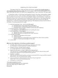 position argument essay resume formt cover letter examples position paper essays