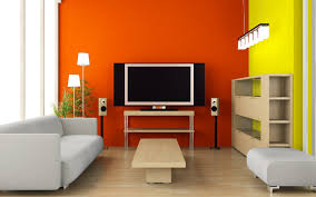 Yellow Paint For Living Room Living Room Colorful Modern Living Room Orange And Yellow Paint