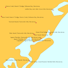 Stites Sound Townsends Inlet New Jersey Tide Chart