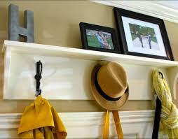 Floating Entryway Shelf Coat Rack shelf Wooden Coat Rack Wall Shelf Pelican Small I With Images 80