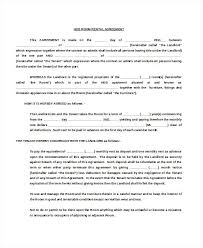 Commercial Lease Agreement Template Best Word Templates Sample Blank ...