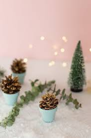 Einfache Weihnachts Deko Last Minute Diy Tischdeko Diy