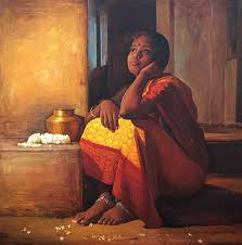 amazing oil painting by south indian legend ilaiyaraaja 26