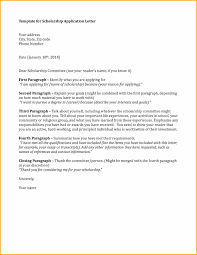 Scholarship Cover Letter Sample Present Day Photoshot An Application