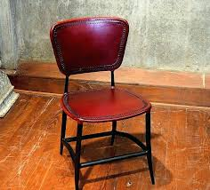 red leather dining chair red leather dining chair signature rocket genuine leather upholstered dining chair red