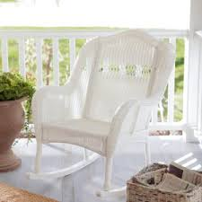 coral coast casco bay resin wicker rocking chair resin rocking chairs h95