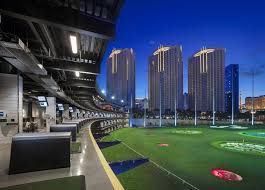 top golf located behind the mgm grand photo courtesy top golf