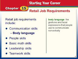 Planning Your Retail Career Ppt Download