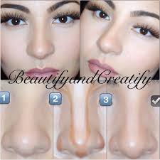 thinner with makeup you make your nose look most of the women would like a diffe