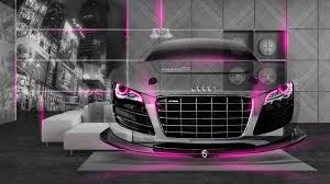 audi r8 crystal home car