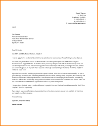 7 Social Services Cover Letter Resume And Cover Letter Services