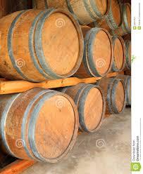 stack wine barrels. Stack Of Round Wooden Wine Barrels